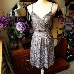 NWOT Sequined Express Dress